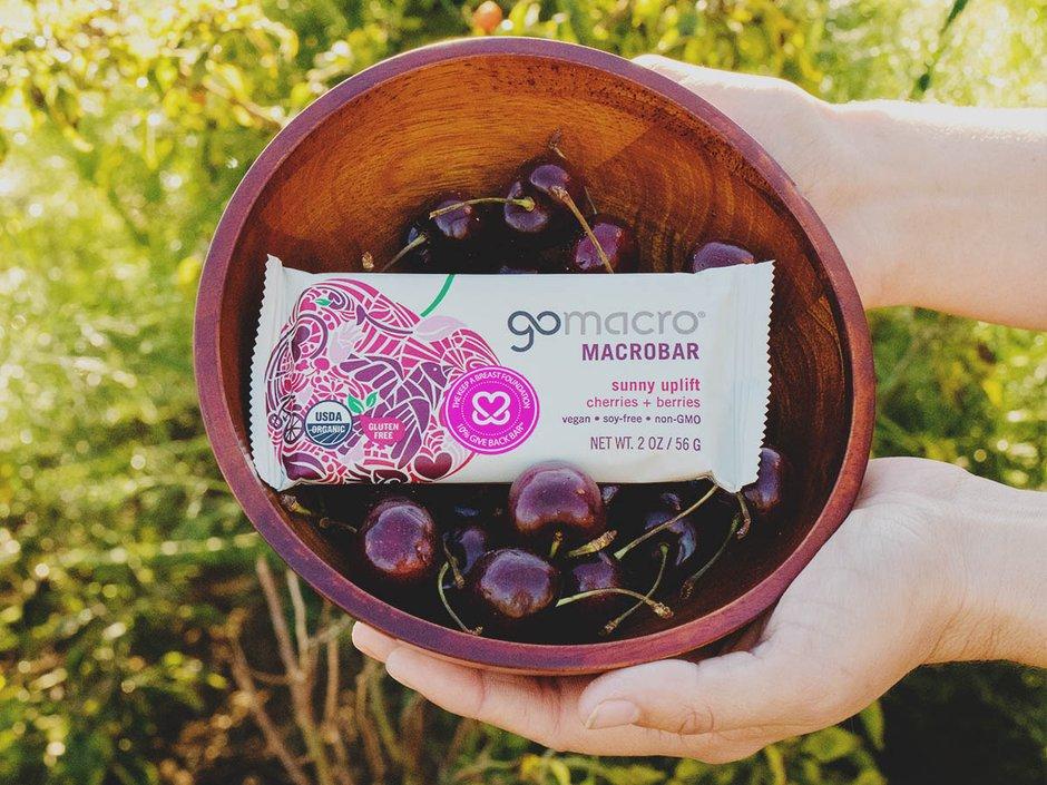 GoMacro Cherries + Berries KAB