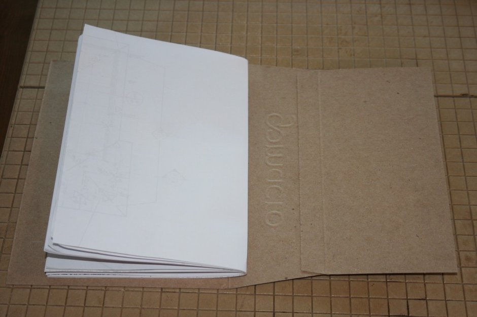 Step 6: Upcycled Blank Journals
