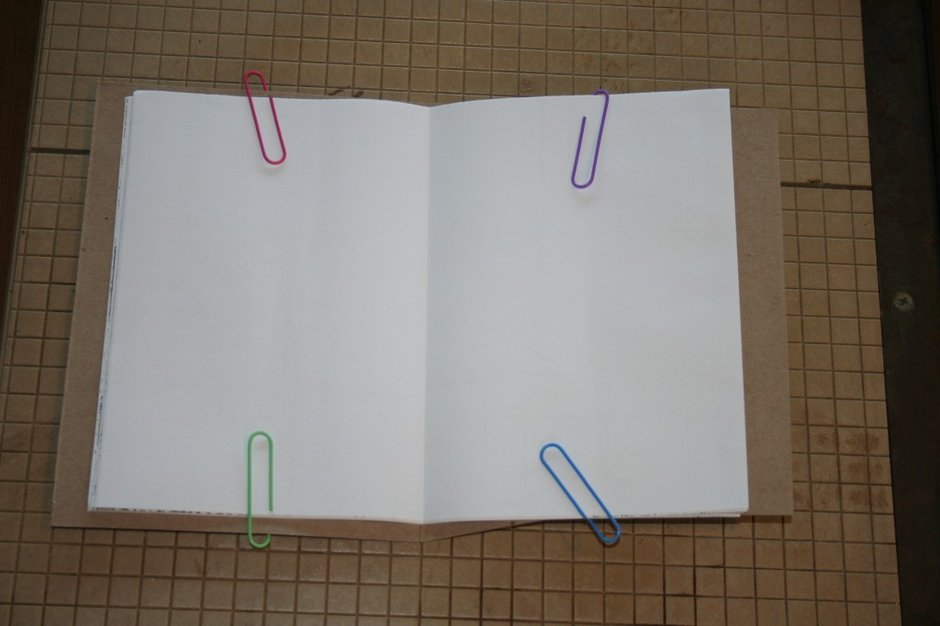 Step 7: Upcycled Blank Journals