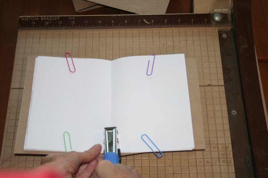 Step 8: Upcycled Blank Journals