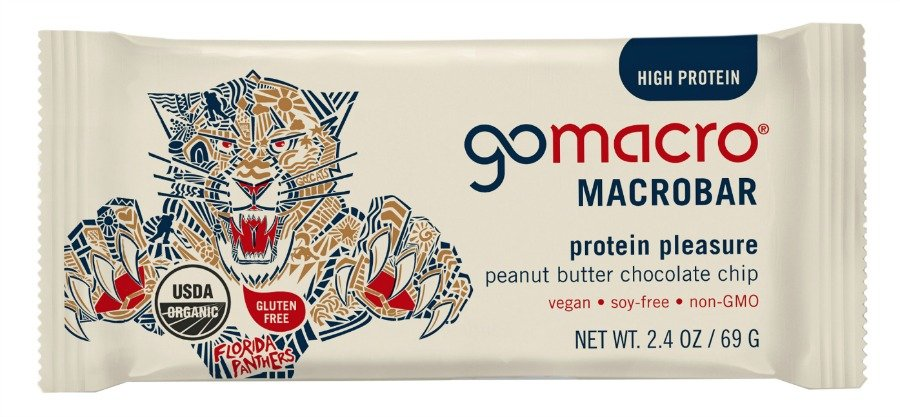GoMacro Creates Co-Branded Nutrition Bar with The Florida Panthers