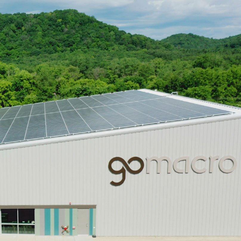 Solar Panels at GoMacro HQ