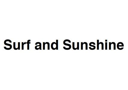 Surf and Sunshine Logo