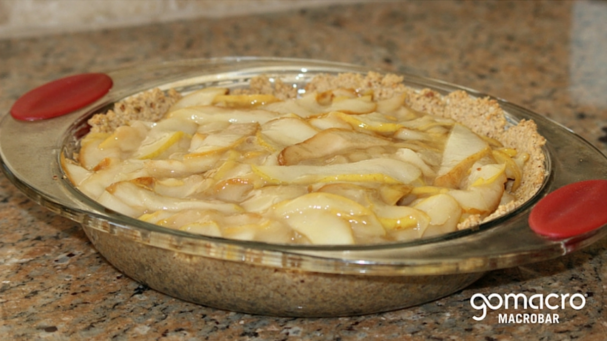 Pear Ginger Pie
