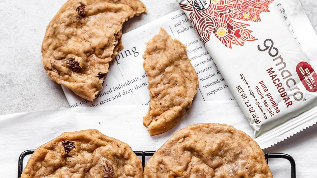 Maple Sea Salt Cookies