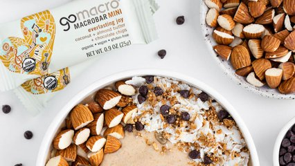 Coconut Almond Butter Smoothie Bowl