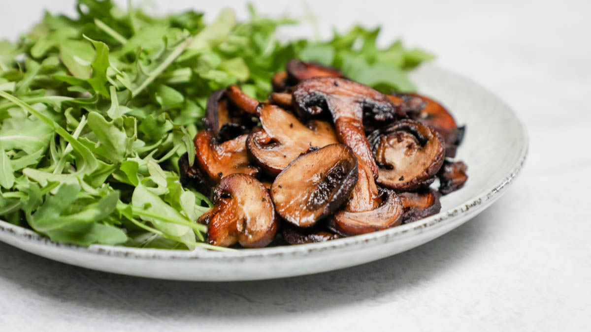 Roasted Balsamic Mushrooms