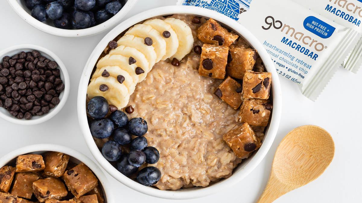 Vegan Oatmeal Breakfast Bowl