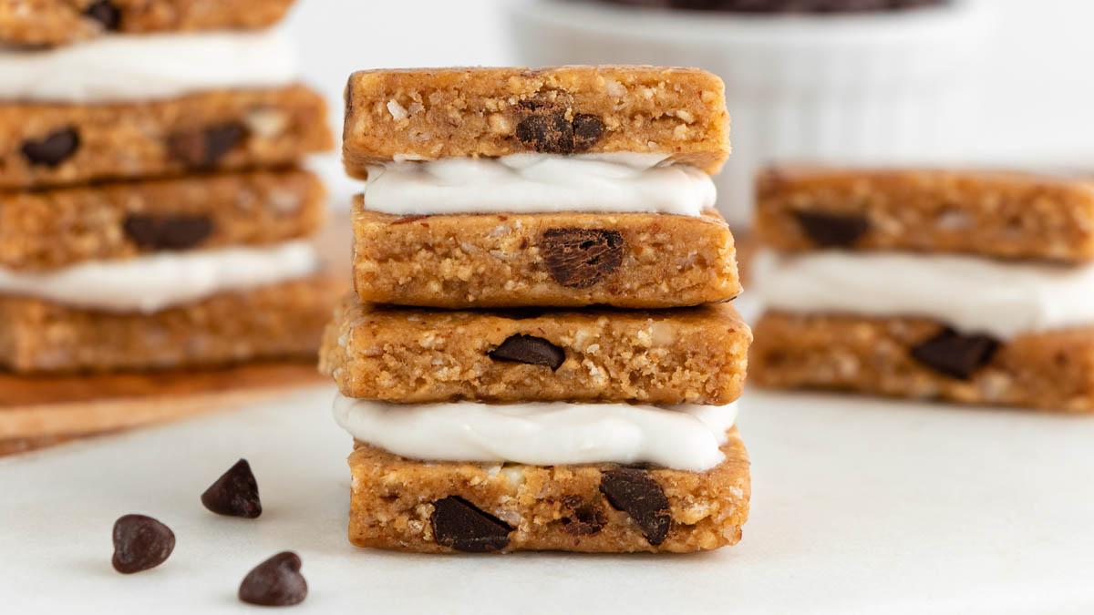 Mini Vegan Cookie Sandwiches