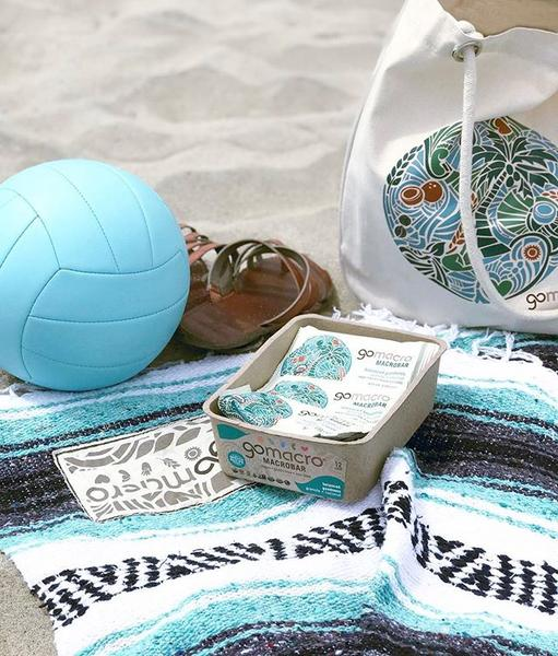 Beach Bag Giveaway  . Summer is in full swing so we decided to throw together a little beach bag bundle for one of our pals!  . One lucky winner will take home: 1. Organic Cotton GoMacro Beach Bag 2. 1 GoMacro Beach Blanket 3. Organic SPF Chapstick 4. Two MacroBar trays of your choice! . Heres how to enter: 1. Like this photo 2. Follow GoMacro 3. Tag 3 beach lovin buddies below. . **BONUS ENTRY** Tell us where your favorite beach is!  . Happy Summer friends, lets live it up!