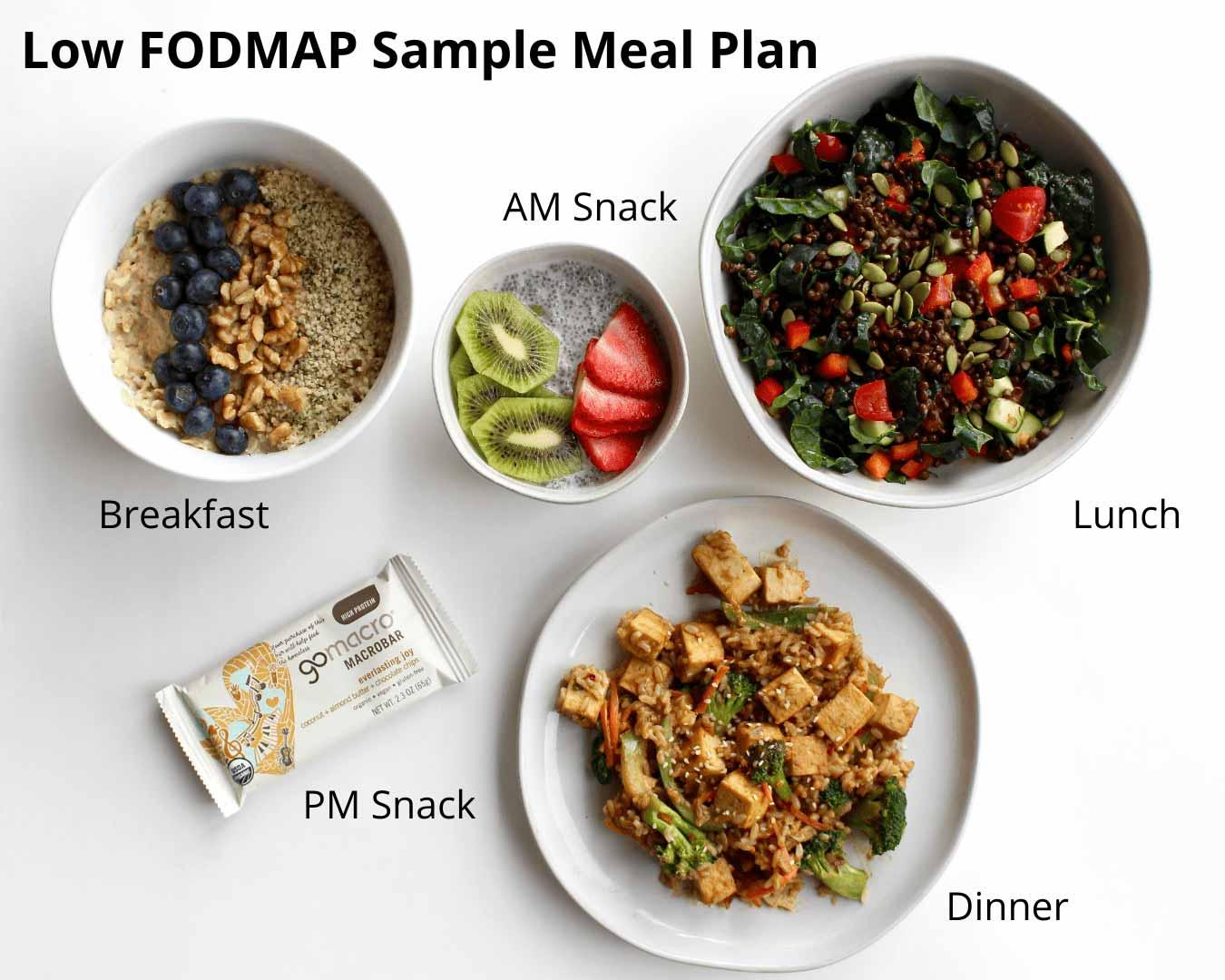 low fodmap diet meals